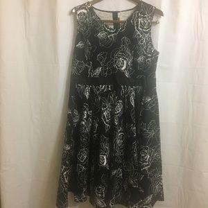 Anni Coco 2X 50's style swing dress